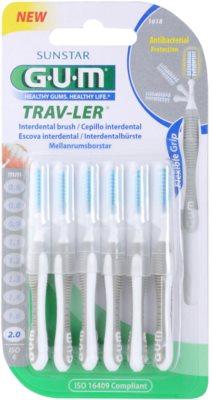 G.U.M Trav-Ler fogköztisztító kefék 6 db