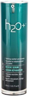 H2O Plus Marine Calm інтенсивна поживна сироватка Для заспокоєння шкіри