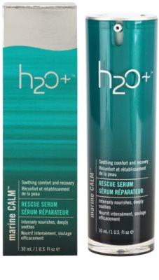 H2O Plus Marine Calm ser intens hrănitor pentru netezirea pielii 1