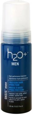 H2O Plus Oasis™ Men spuma pentru barbierit cu efect de hidratare