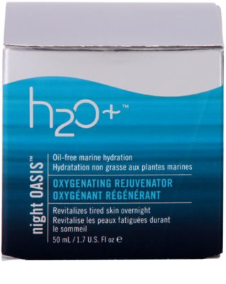 H2O Plus Oasis™ éjszakai regeneráló krém 3