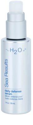 H2O Plus Sea Results защитен серум с анти-бръчков ефект