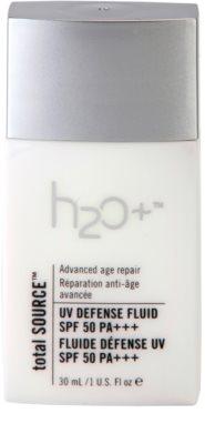 H2O Plus Total Source захисний флюїд проти зморшок SPF 50