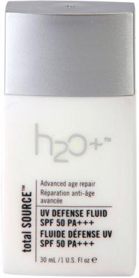 H2O Plus Total Source protetor fluido antirrugas SPF 50