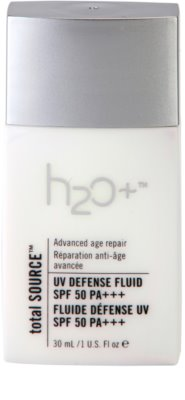 H2O Plus Total Source Védő fluid ráncok ellen SPF 50