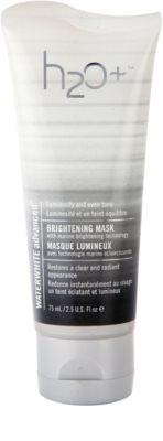 H2O Plus Waterwhite Advanced™ aufhellende Hautmaske mit feuchtigkeitsspendender Wirkung