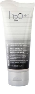 H2O Plus Waterwhite Advanced™ mascarilla iluminadora con efecto humectante