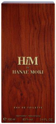 Hanae Mori HiM Eau de Toilette pentru barbati 4