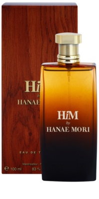 Hanae Mori HiM Eau de Toilette pentru barbati 1