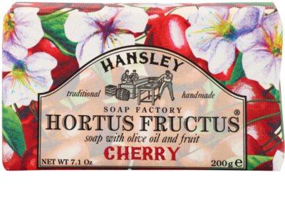 Hansley Cherry tuhé mýdlo