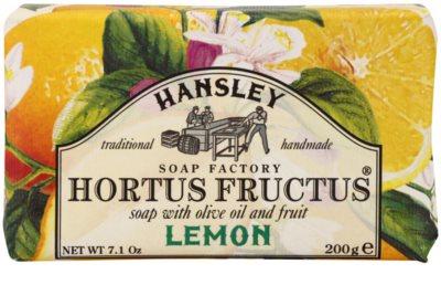 Hansley Lemon tuhé mýdlo
