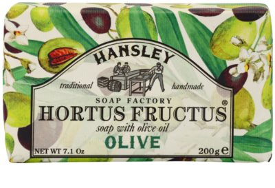 Hansley Olive tuhé mydlo