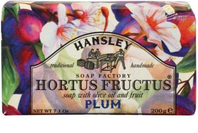 Hansley Plum mydło w kostce