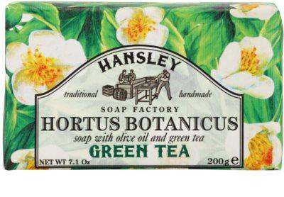 Hansley Green Tea tuhé mýdlo