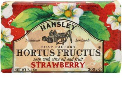 Hansley Strawberry jabón sólido