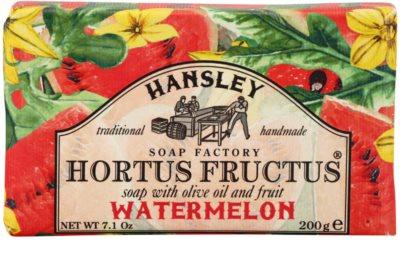 Hansley Watermelon tuhé mýdlo