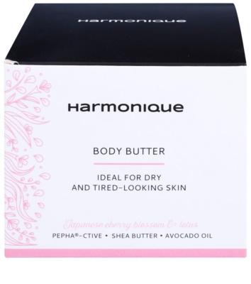 Harmonique Japanese Cherry & Lotos masło do ciała dla skóry suchej, bez witalności 2