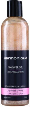 Harmonique Japanese Cherry & Lotos opalizujący żel pod prysznic do codziennego użytku