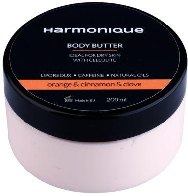 Harmonique Orange & Cinnamon & Clove maslo za telo proti celulitu