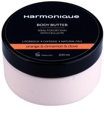 Harmonique Orange & Cinnamon & Clove tělové máslo proti celulitidě