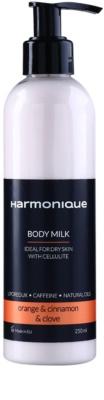 Harmonique Orange & Cinnamon & Clove leite corporal anticelulite