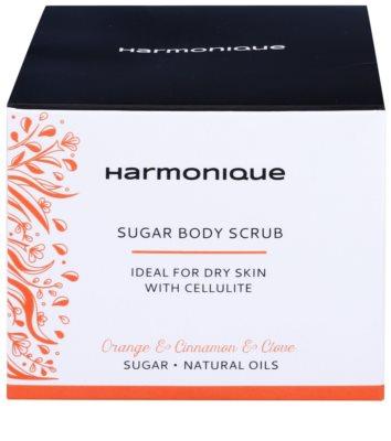 Harmonique Orange & Cinnamon & Clove Zucker-Peeling gegen Zellulitis 2