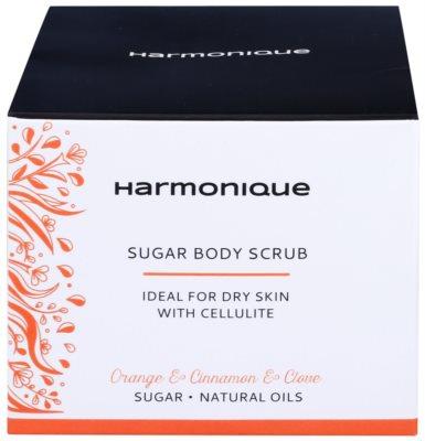 Harmonique Orange & Cinnamon & Clove cukros peeling narancsbőrre 2