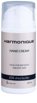 Harmonique 20% Shea Butter crema de manos para pieles secas e irritadas
