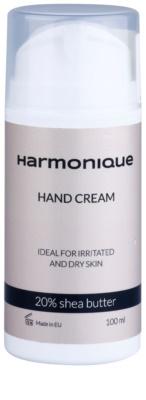 Harmonique 20% Shea Butter kézkrém a száraz és érzékeny bőrre
