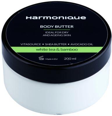 Harmonique White Tea & Bamboo масло за тяло против стареене на кожата