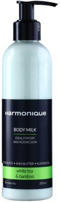Harmonique White Tea & Bamboo Körpermilch gegen Hautalterung