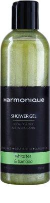 Harmonique White Tea & Bamboo Gel de duș strălucitor pentru utilizarea de zi cu zi