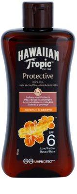 Hawaiian Tropic Protective vodoodporno zaščitno suho olje za sončenje SPF 6