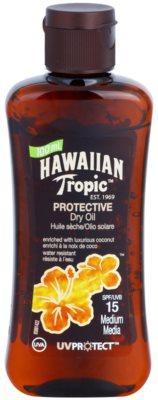 Hawaiian Tropic Protective Óleo seco de proteção solar à prova de água SPF 15
