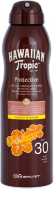 Hawaiian Tropic Protective aceite seco solar resistente al agua SPF 30