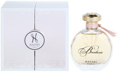 Hayari Parfums Broderie Eau de Parfum für Damen
