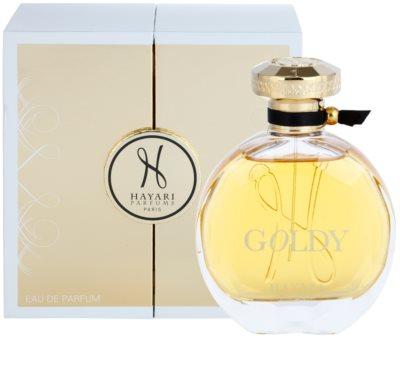 Hayari Parfums Goldy Eau de Parfum für Damen 1