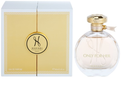 Hayari Parfums Only for Her eau de parfum nőknek