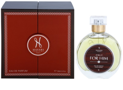 Hayari Parfums Only for Him Eau de Parfum für Herren