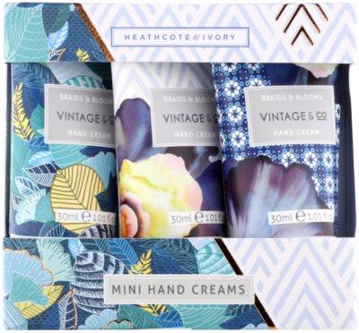 Heathcote & Ivory Vintage & Co Braids & Blooms coffret VI.