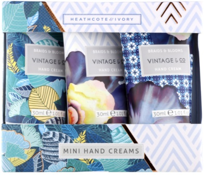 Heathcote & Ivory Vintage & Co Braids & Blooms kozmetični set VI.