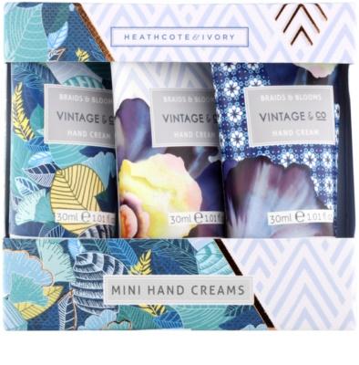Heathcote & Ivory Vintage & Co Braids & Blooms lote cosmético VI.