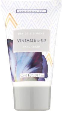 Heathcote & Ivory Vintage & Co Braids & Blooms lote cosmético VII. 4