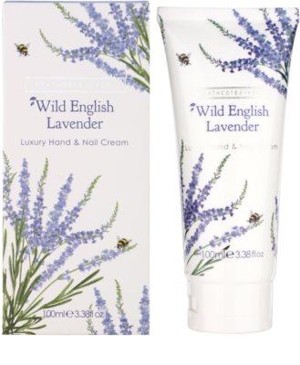 Heathcote & Ivory Wild English Levander luxus krém kézre és körmökre 1