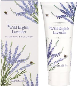 Heathcote & Ivory Wild English Levander crema de lux pentru maini si unghii 1