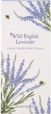 Heathcote & Ivory Wild English Levander luxus krém kézre és körmökre 2