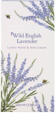 Heathcote & Ivory Wild English Levander crema de lux pentru maini si unghii 2