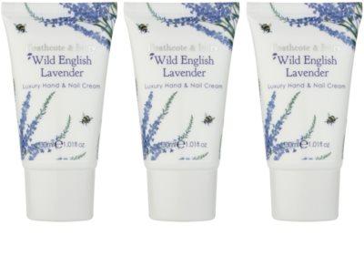 Heathcote & Ivory Wild English Levander Kosmetik-Set  IV.