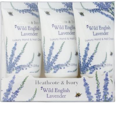 Heathcote & Ivory Wild English Levander kozmetika szett IV. 1