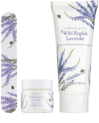 Heathcote & Ivory Wild English Levander Kosmetik-Set  III. 1